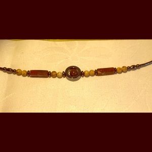 Tiger's Eye and Hematite necklace
